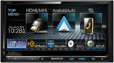 Kenwood eXcelon DDX9902S Apple Car Play Android Auto Receiver w/ Bluetooth HD
