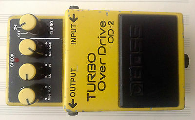Boss OD-2  Effect Pedal Overdrive