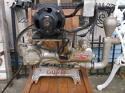 "antique well/cistern pump ""Duro Co."" Dayton Ohio Industrial!"