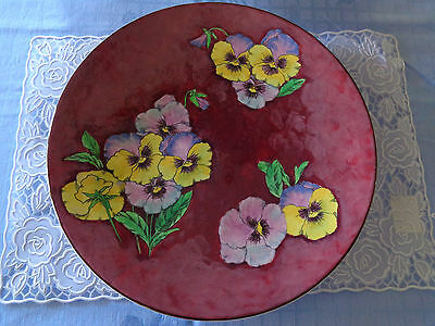 Superb Royal Doulton Charger - Pansy Pattern D6402 - Exc.Cond. Remarkable Size