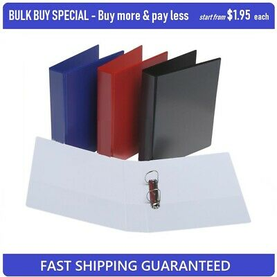 **BULK BUY SPECIAL** Insert Binder A4 2 D-Ring 25mm 48PCS From Only $1.95 each