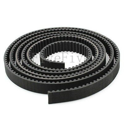HTD 5M Rubber Open Timing Belt 10/15/20mm Width 5mm Pitch For CNC Drives