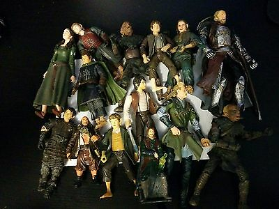 Mixed LOTR/mixed Action figures lot 14