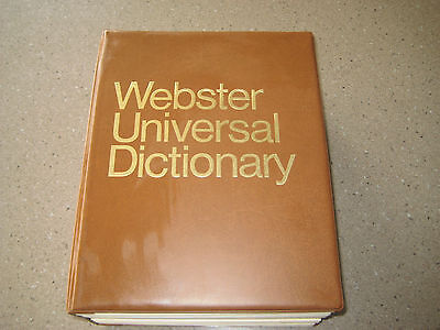 Webster Universal Dictionary Vgc