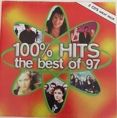 100% Hits the best of 97 2 CD's