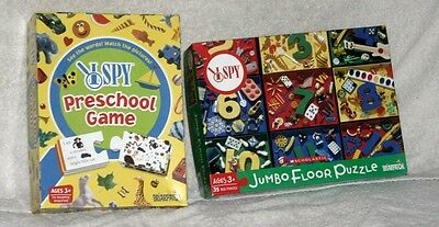 I Spy Preschool, Scholastic, Game and Puzzle