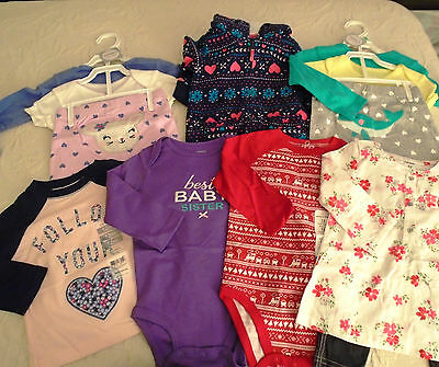 New 12 Pc. Lot Of Baby Girl Clothes 12-18 Months Nwt $130