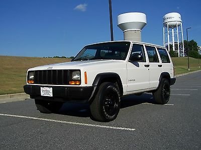 2000 Jeep Cherokee SE SPORT 1-OWNER 63K GEORGIA ROCK SOLID ZERO RUST HARP-VERY-CLEAN-H.O-4.0L-INLINE-6CYL-AUTO-COLD-AC-NEW-TIRES-ALLOYS-XJ-SUV-WAGON