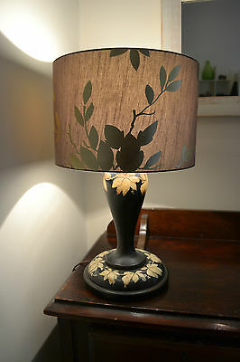 Solid Timber Table Lamp and shade