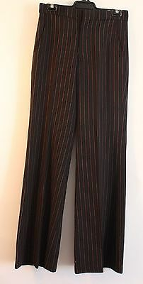 """SMALL 1970's MENS PANTS. TAILORED BY PETER ANTHONY. WAIST 30"""" / 77CM."""