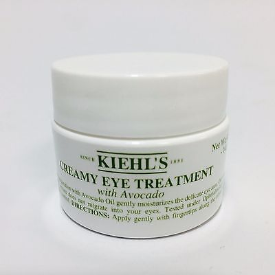 Kiehl's Creamy Eye Treatment with Avocado 0.50 Oz / 14g Natural Ingredients