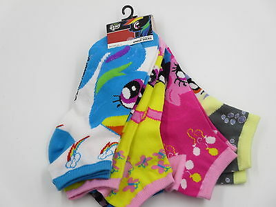 My Little Pony Brony Cosplay Hot Topic Ankle Socks 5 Pack CLEARANCE SALE