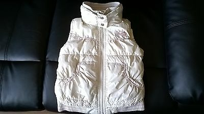 Kids Girls Next Heavy Padded Gilet Jacket,age 7-8 Years,v.g.c