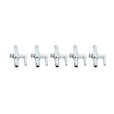 5pcs* Distributeur Air Flow Levier Controle Inox Aquarium poisson Valve Double -
