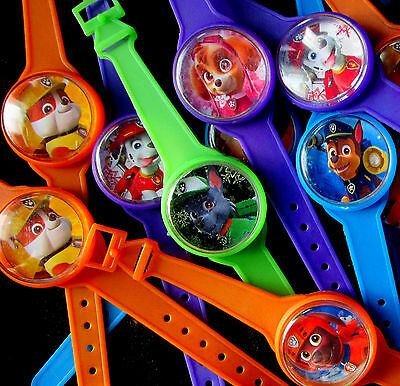 Paw Patrol- 8 Toy Watches - Party Favors Watch Birthday Pinata Prizes  Kids Dogs