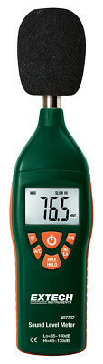 Extech 407732 Sound Level Meter with Backlit Display