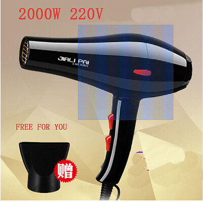 New Professional Hair Blow Dryer 1600W Heat Blower Dryer Hot And Cold Wind Salon