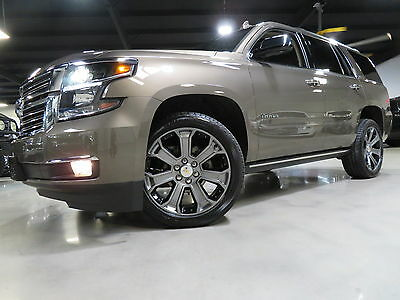 2016 Chevrolet Tahoe LTZ 1700 Miles 1-OWNER CARFAX (ALL OPTIONS) TX  16 Tahoe LTZ 1700 Miles Nav Camera Sunroof TV DVD HUD BOSE 22s Sunroof Carfax TX