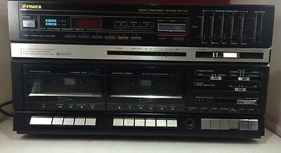 Fisher MC-723  Stereo Receiver and Turntable Record Player
