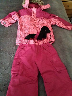 Girls Snow Outfit Age 6