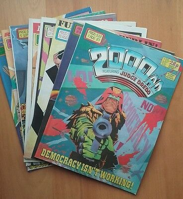 2000AD 533 to 540 (8 issue lob lot)