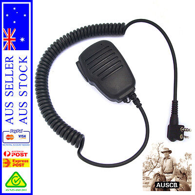 AUSCB Speaker Microphone - Suits AUSCB 5W 80CH UHF CB Handheld