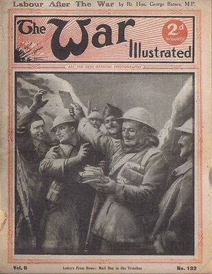 The War Illustrated 24th Feb 1917 World War I The Great War 1914 - 1918