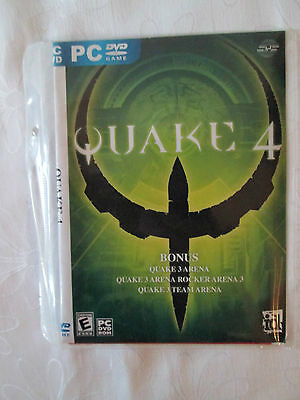 Pc Dvd  Game - Quake 4.  As New Condition