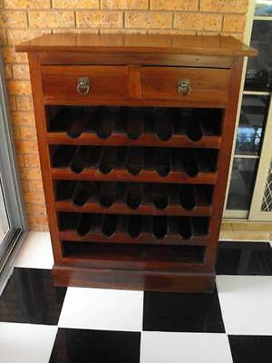 Solid Timber Wine Rack
