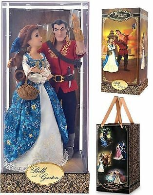Disney limited edition belle and gaston fairytail designer doll