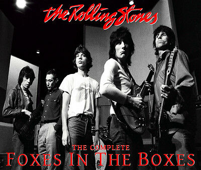 The Rolling Stones - The Complete Foxes In The Boxes STUDIO 2CD - Limited