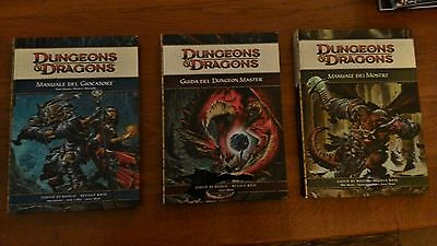 Dungeons & Dragons 4.0 Manuale del giocatore, Dungeon Master, Mostri