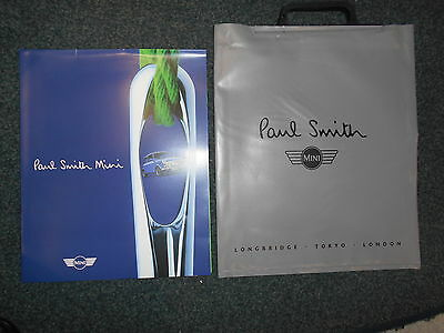 Rover Mini Paul Smith 1998 Limited Edition  Brochure and Bag