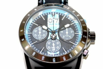 Genuine Abarth Chronograph Anthracite & Blue Watch 59230594