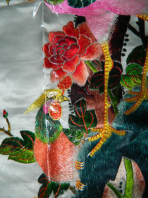 Beautiful Hand Embroidered Silk Picture
