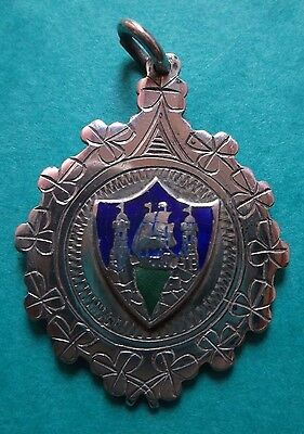 1963 CORK CROSS COUNTRY ENAMEL & SILVER JUNIOR X COUNTRY MEDAL Ist