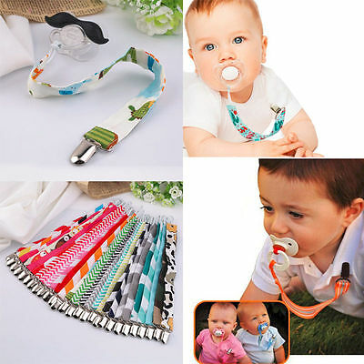Dummy Nipple Pacifier Soother Leash Strap Clip Drop-resistant Belt Holder Chain