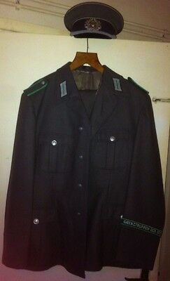 1981 East German Border Guard Uniform In Good Condition.