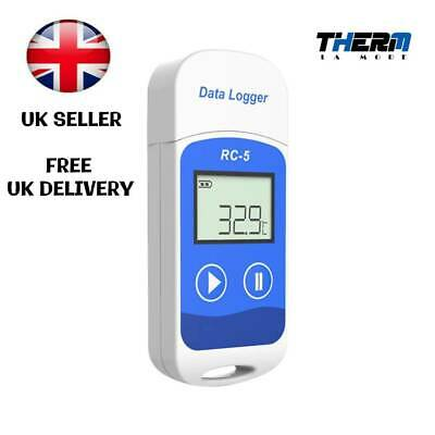 Temperature Data logger RC-5 USB Datalogger Recorder 3200 points Reusable
