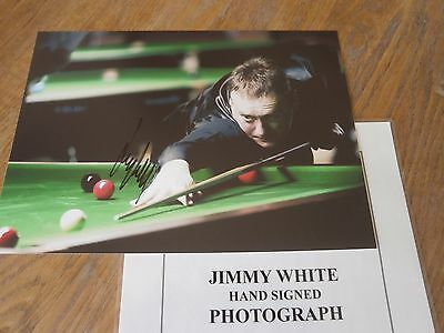 Jimmy White ,HAND SIGNED PHOTO,With COA