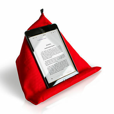 iPad / tablet, kindle, book, lap cushion, stand, holder / red/ PROPIT®