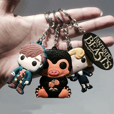 Fantastic Beasts and where to find them Xmas Keychain ring Gift Fashion