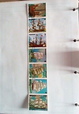 Paraguay Stamps - 1979 - ships