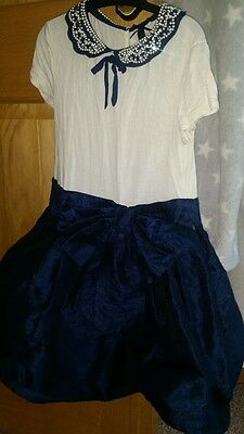 Next girls party dress. Worn once age 7