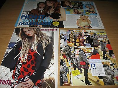 ASHLEE SIMPSON - Small set of magazine clippings