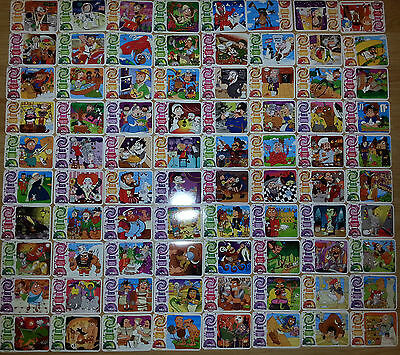 Yo Yo Bear Time Travel Adventure FULL COLLECTION. All 80 cardS included!!