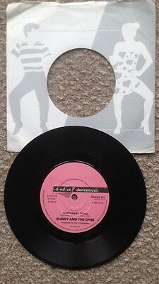 """Slinky and the Ephs...Temporary Thing 7"""" Funk/Disco   Dindisc DANCE 101"""