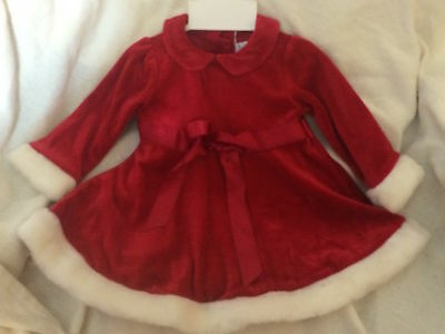 Authentic Kids Baby Girls Red Dress, Size 3 Months