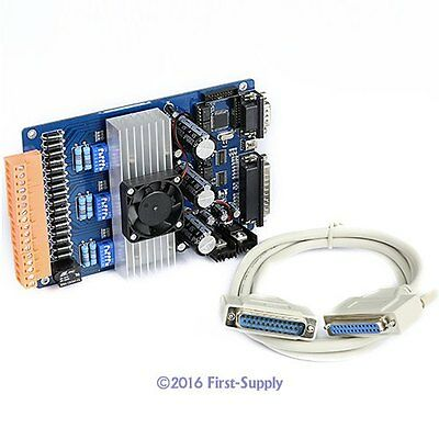 CNC Router Milling Machine 3 Axis TB6600HG MicroStepper Driver 0.2A-5A 12-45V DC