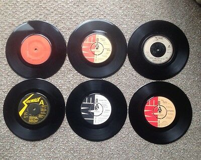 "JOB LOT 6 Assorted 7"" Soul/Funk/Disco 45's from 1977/78"